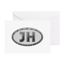 JH Metal Greeting Card