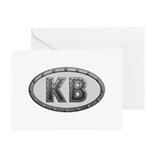 KB Metal Greeting Card 20 Pack