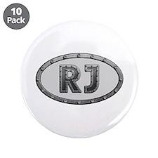 RJ Metal Big Button 10 Pack
