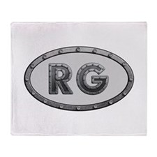 RG Metal Throw Blanket