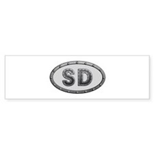 SD Metal Bumper Sticker 10 Pack
