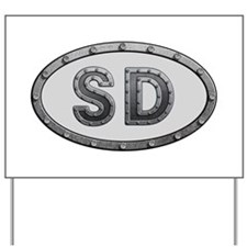 SD Metal Yard Sign