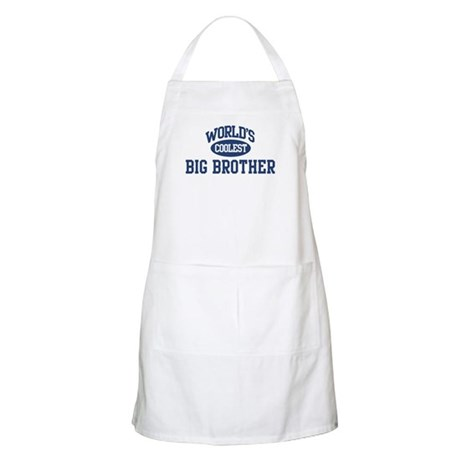 Coolest Big Brother BBQ Apron