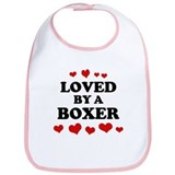 Loved: Boxer Bib
