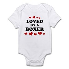 Loved: Boxer Infant Bodysuit
