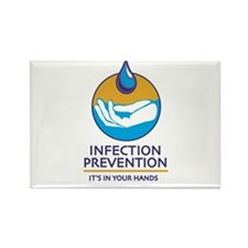 Cool Infection control Rectangle Magnet (100 pack)