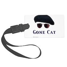 Unique Cat womens Luggage Tag