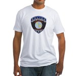 White Settlement ISD PD Fitted T-Shirt