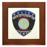 White Settlement ISD PD Framed Tile