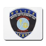 White Settlement ISD PD Mousepad