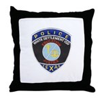White Settlement ISD PD Throw Pillow