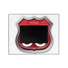 Texas Route 66 - Red Picture Frame