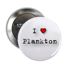 "I Love Plankton 2.25"" Button (100 pack)"