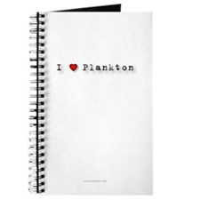 I Love Plankton Journal