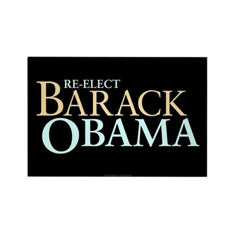 Barack Obama for President Rectangle Magnet (100 p