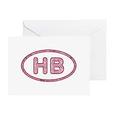 HB Pink Greeting Card