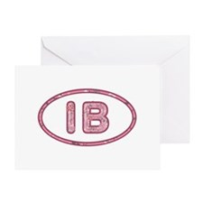 IB Pink Greeting Card