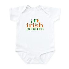 I Love Irish Potatoes Infant Bodysuit