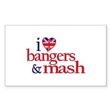 Bangers and Mash Rectangle Decal