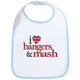 Bangers and Mash Bib