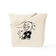 Rizzz Happy Man Tote Bag