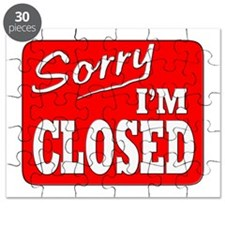 Sorry I'm Closed Puzzle