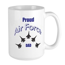 Proud Air Force DAD Mugs