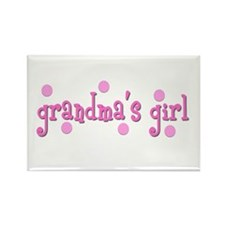 grandma's girl Rectangle Magnet