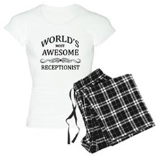 World's Most Awesome Receptionist Pajamas