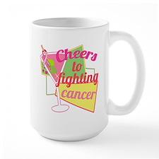Cancer Martini Mugs