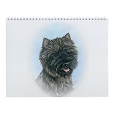 Ann Priddy CAIRN TERRIER Art Wall Calendar