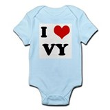 I Love VY Infant Bodysuit