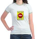 Don't Suck Button Jr. Ringer T-Shirt