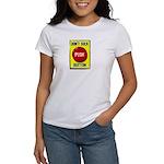 Don't Suck Button Women's T-Shirt