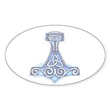 MJOLLNIR Oval Decal