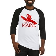 Maine Lobster Baseball Jersey