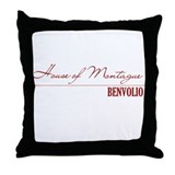 Benvolio Throw Pillow