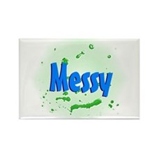 I'm Messy Rectangle Magnet (100 pack)