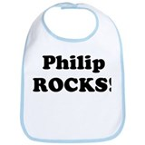Philip Rocks! Bib