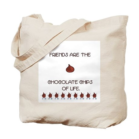 Chocolate and Friends Tote Bag