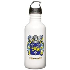 North Coat of Arms (Family Crest) Water Bottle