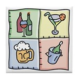 Drink Tiles Tile Coaster