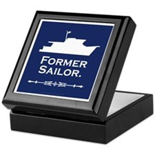 Former sailor trawler lover Keepsake Box
