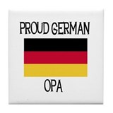 Proud German Opa Tile Coaster