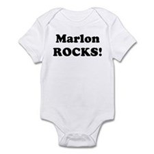 Marlon Rocks! Infant Bodysuit