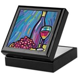 Drink Coasters Keepsake Box