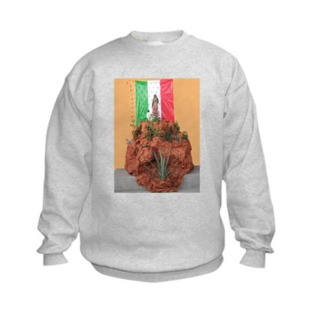 Virgin of Guadalupe Shrine Kids Sweatshirt