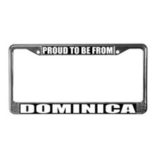 Dominica License Plate Frame