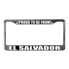 El Salvador License Plate Frame