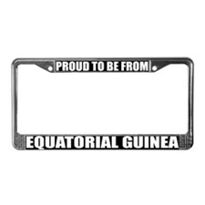 Equatorial Guinea License Plate Frame